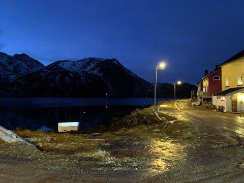 Her skal det bygges ny molo for etablering av nye Kamøyvær fiskerihavn.