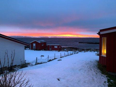 Bildet er tatt på Nesset i Nordvågen.
