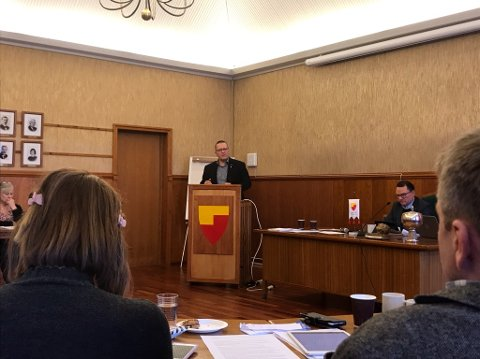 Varaordfører i Nordkapp, Tor Mikkola (SP)