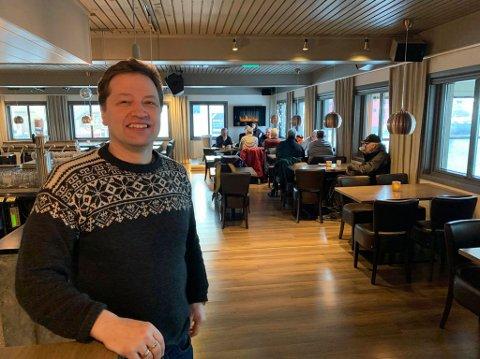 USIKKERHET: Odd-Arne Nilsen prøver å holde seg positiv i disse dager, men hvilken vei det går er uvisst. Bildet er tatt ved en tidligere anledning.