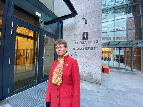 Kathrine Kleveland ved Borgarting Lagmannsrett.
