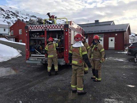 Lebesby Brann og redning: Bildet er tatt under et annet oppdrag.