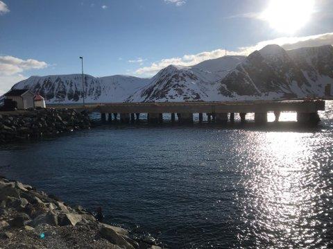 Tom cruisekai gir tom pengebok for Nordkappregionen havn.