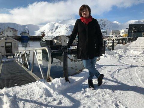 Kristina Hansen er fylkesråd for Samferdsel i Troms og Finnmark Fylkeskommune.