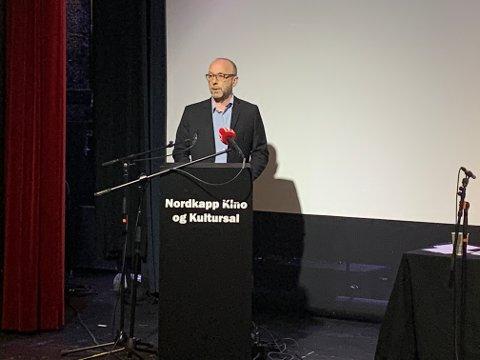 Børge Grønlund, økonomisjef og assisterende kommunedirektør i Nordkapp kommune.