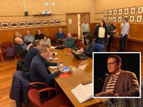 ØNSKER MINDRE STØY: – Vi er alle tjent med at vi får fremdrift i sakene som omhandler Nordkapp, og vi alle ønsker å få ro i samfunnet igjen, sier varaordfører Tor Mikkola.