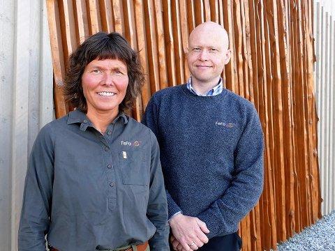 Christina Bjørkli er utmarksforvalter og Einar Asbjørnsen er leder for utmark i FeFo.