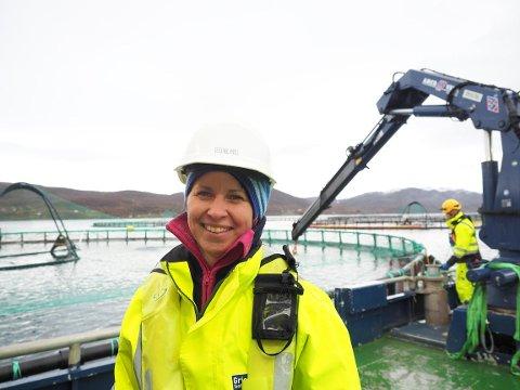 Berit Seljestokken er utdannet fiskehelsebiolog fra Universitetet i Bergen.