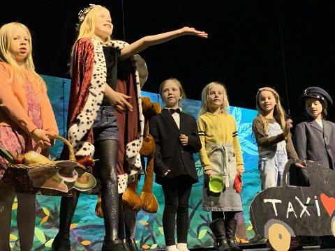 Bildet er hentet fra Barnebokfestivalen Bukke Bruse og er kun ment som illustrasjons-bilde for barneteater.