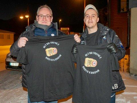 DUO: Ole Håvard Olsen og Andreas Børvik er programledere i Radio Korona.