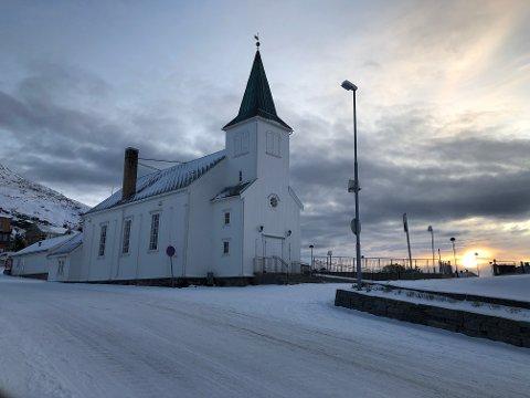 Honningsvåg kirke holdes koronastengt de neste ukene.