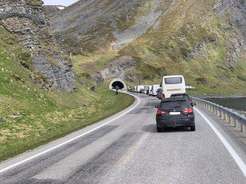 ÅPNER SNART. Vegvesenet melder at Honningsvågtunnelen skal være stengt kveld og natt helt fram 1. mars 2022. Men er det rett.