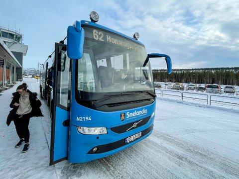 FULL STOPP: Blir det streik søndag, stopper alle busser i Finnmark.