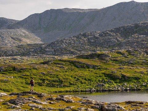 VAKKERT: Naturen rundt Storskogvannet og Holmevannet (bildet) er vakker, variert og et flott turområde ikke langt fra Gjesvær. Her vil bygdelaget bygge en gapahuk til glede for alle som bruker området.