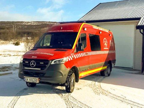 NYBIL: Med ny bil skal brann og redning i Lebesby