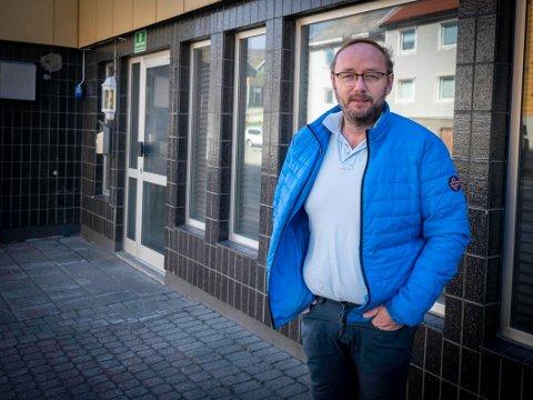 AKTIVITET: Honningsvåg Handel og Industriforening og Lars-Helge Jensen vil skape mer aktivitet i byen.