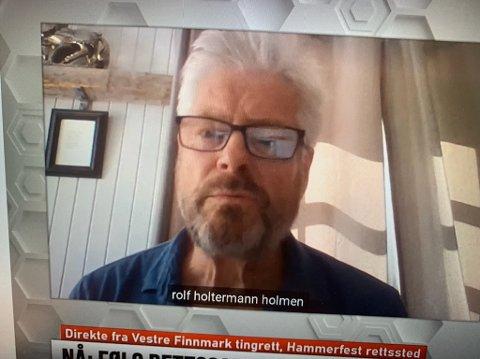 Rolf Holmen var vitne for Scandic onsdag.