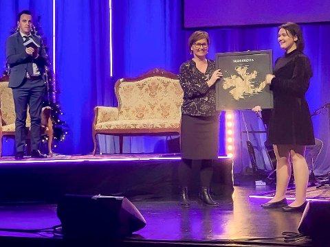 STIPEND: I fjor fikk Ariel Thomassen kulturstipendet. I år spiller hun under prisutdelingen den 11. september