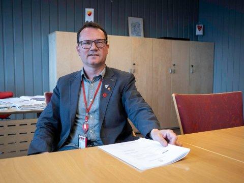 Ordfører Jan Olsen (SV)