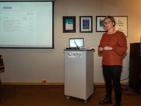 ETTERLYSTE VISJONER: Heidi Holmgren (SP) etterlyste mål og visjoner for Nordkapp under Planutvalgets møte i forrige uke.