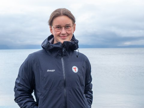 BLI MED UT: - Bli med ut på tur i helga, oppfordrer Kamilla Iselin Remman i Nordkapp og omegn turlag.