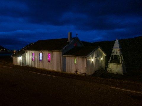 JUBILERER: I august var det 60 år siden Skarsvåg kirke ble vigslet. Dette feires denne helga.