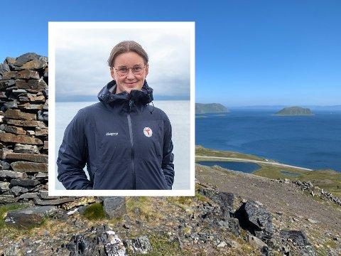 Kamilla Iselin Remman. Styreleder Nordkapp og Omegn Turlag