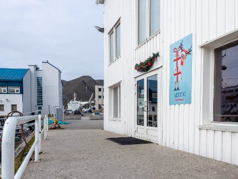FIKK STØTTE: Arctic julehus på kaia i Honningsvåg, er en av tre bedrifter som fikk innvilget støtte fra næringsfondet tirsdag.
