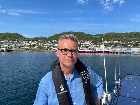 Fiskeri- og sjømatminister Odd Emil Ingebrigtsen
