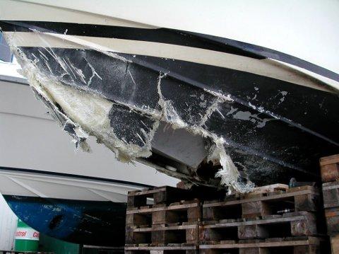 IKKJE DETTE: Det er ikkje grunnstøyting som båtfolk opplever som den flauaste tabben å begå på sjøen, merkeleg nok.
