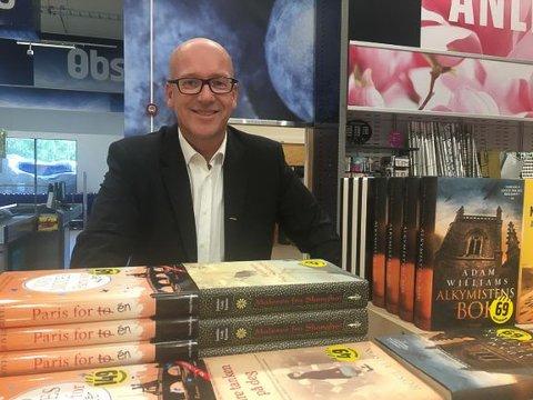 Blir bokhandler: Konsersjef i Coop, Geir Inge Stokke, kastar seg inn i kampen om bokkjøparane.