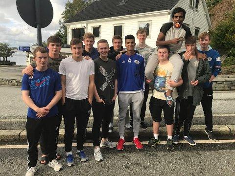 LETT SIGER: Florø SK Handball sitt 18-årslag tok ein lett siger borte mot Stord på laurdag.