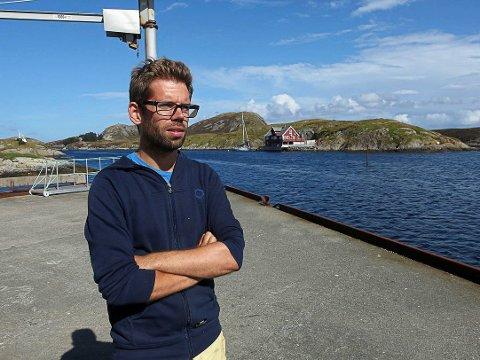 Daniel Fedøy jobbar systematisk vidare med tare som matressurs.