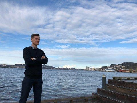 Gaute Vassbotten bur og arbeider i landets fiskerihovudstad Bergen.