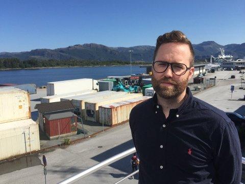 Erlend Toftesund tek til i stillinga som administrerande direktør i Saga Fjordbase 1. oktober 2018.