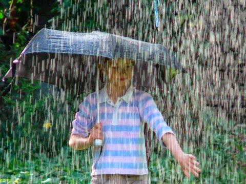 nedbør regnvêr