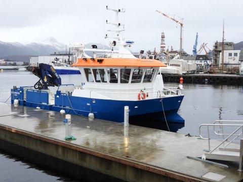 Ein robust og manøvreringsdyktig arbeidsbåt, blir Oddenakken kalla.