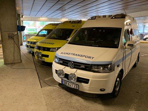 Helse Førde vurderer ein såkalla kvit ambulanse.