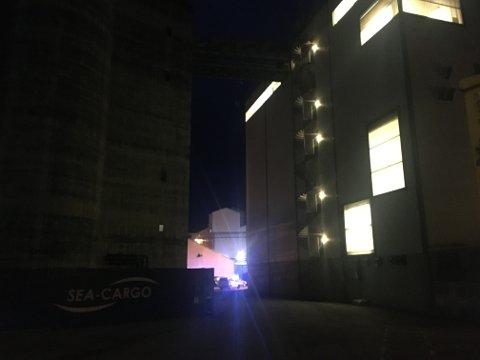 Brannmannskaper rykte onsdag kveld ut til røykutvikling på Ewos.