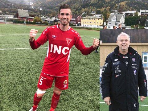 Tore Rylandsholm i Bremanger ser lyst på sesongen med Torbjørn Glomnes med i trenarteamet.