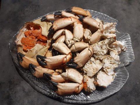 GODT, MEN IKKJE LENGER SUNT? Kartlegging av krabbe fanga langs Trøndelagskysten avslører høgt innhald av det kreftframkallande tungmetallet kadmium.