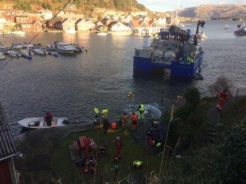 FERDIG: Granskinga av kva som gjekk gale då ein person mista livet i ei utforkøyring ved Kalvåg 16. november i fjor, er no avslutta.
