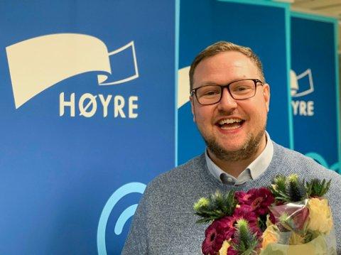 Erlend Svardal Bøe er Troms Høgres nye stortingsmann, men enda større er det nok å vere gjest i Tempopodden?