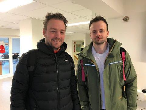 Benjamin Eggen og Kristian Vårdal frå Tempo FK har starta podcast