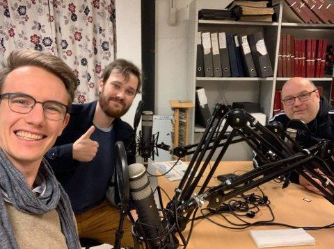 PANEL: Magnus B. Nygaard, Truls-Einar Johnsen og Arne Hjorth Johansen er vekas podcast-panel.