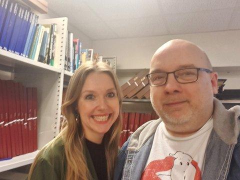 RADIKALISERINGSPODCAST: Elisabeth Harnes er gjjest hos Arne Hjorth Johansen i podcasten denne veka.