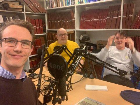 PODCAST: Magnus B.Nygaard, Arne Hjorth Johansen og Benjamin M. Thuen i Podcast-panelet