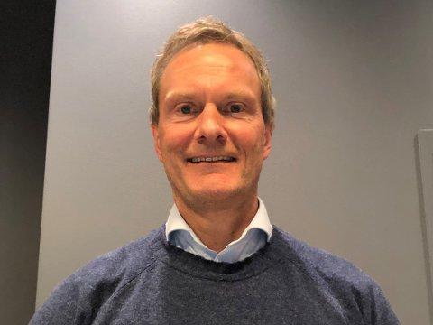 REGIONDIREKTØR: Arild Sandvoll i Sparebanken Vest