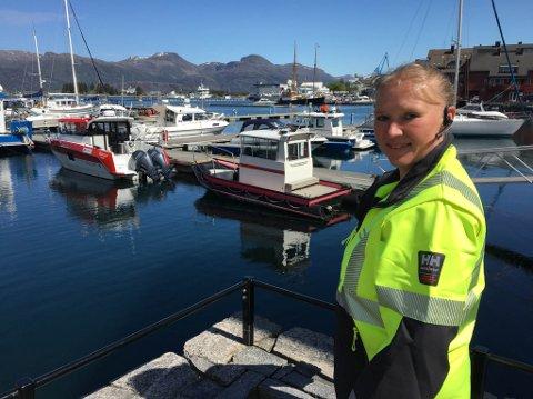 VELKOMEN! – Vi gler oss og håpar på rekordinnrykk i sommar, seier Anita Eikevik, ansvarleg for drift og tilsyn av Florøvika Gjestebrygge i sommar.