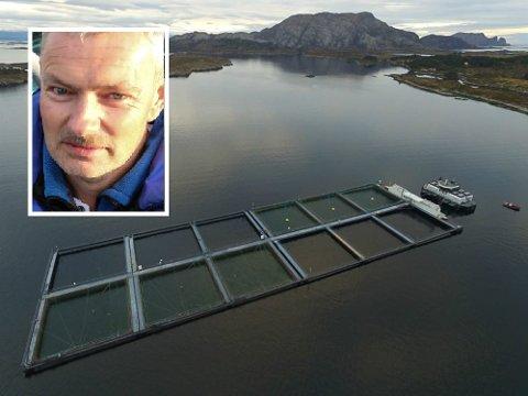 GODT ÅR: Nils Tore Karstensen i E. Karstensen Fiskeoppdrett AS seier det har vore eit godt år.